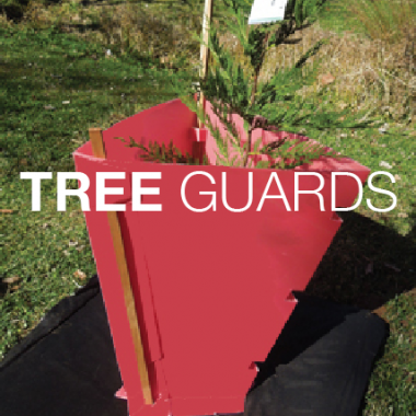 Tri-cone Tree Guards from Bio-Degradable Products BDP
